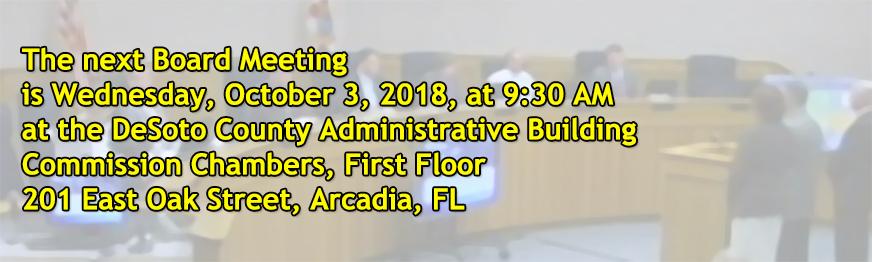 Board Meeting 10-3-18