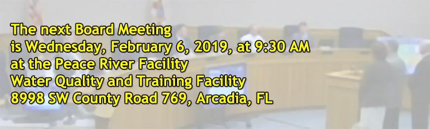 Board Meeting February 6, 2019